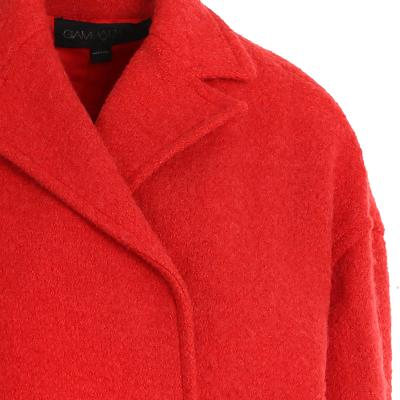 wrap design half coat red